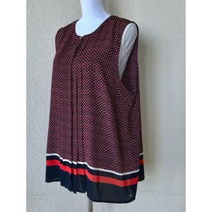 Tommy Hilfiger Sleeveless Top Red White Blue